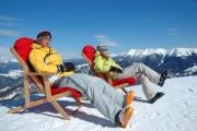 Oddych po lyžovačke